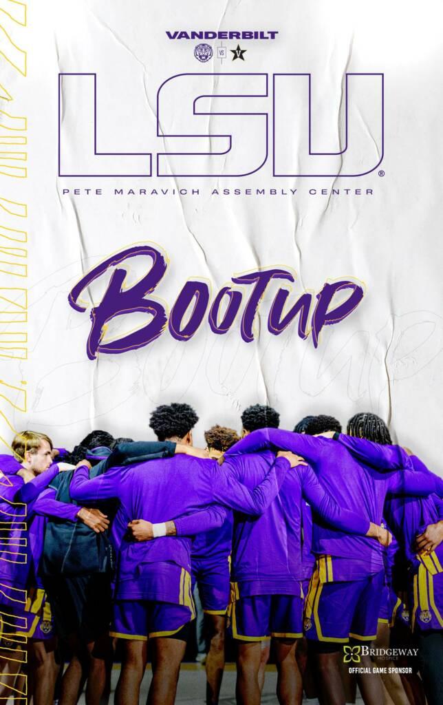 2020-21 LSU Mens Basketball Game Program Cover 14