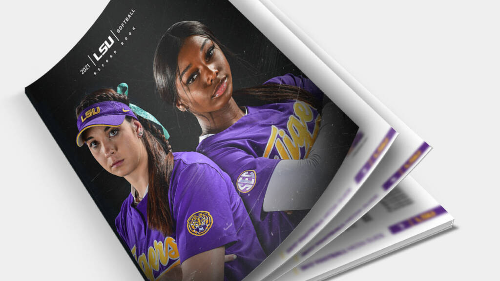 2021 LSU Softball Record Book - Mock-up