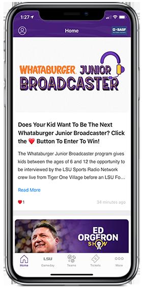 Whataburger Junior Broadcaster
