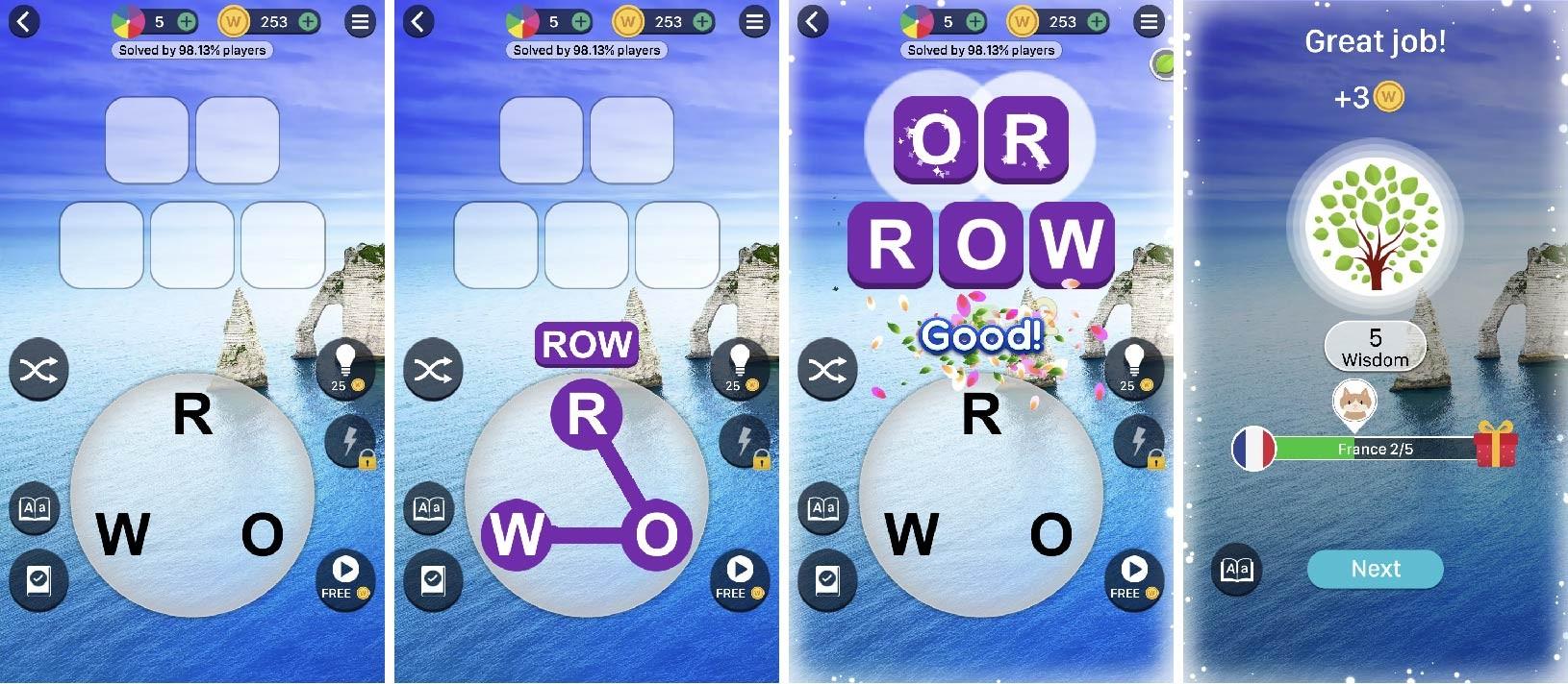 word trip word game