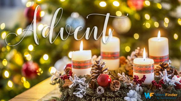 christmas word meaning of advent