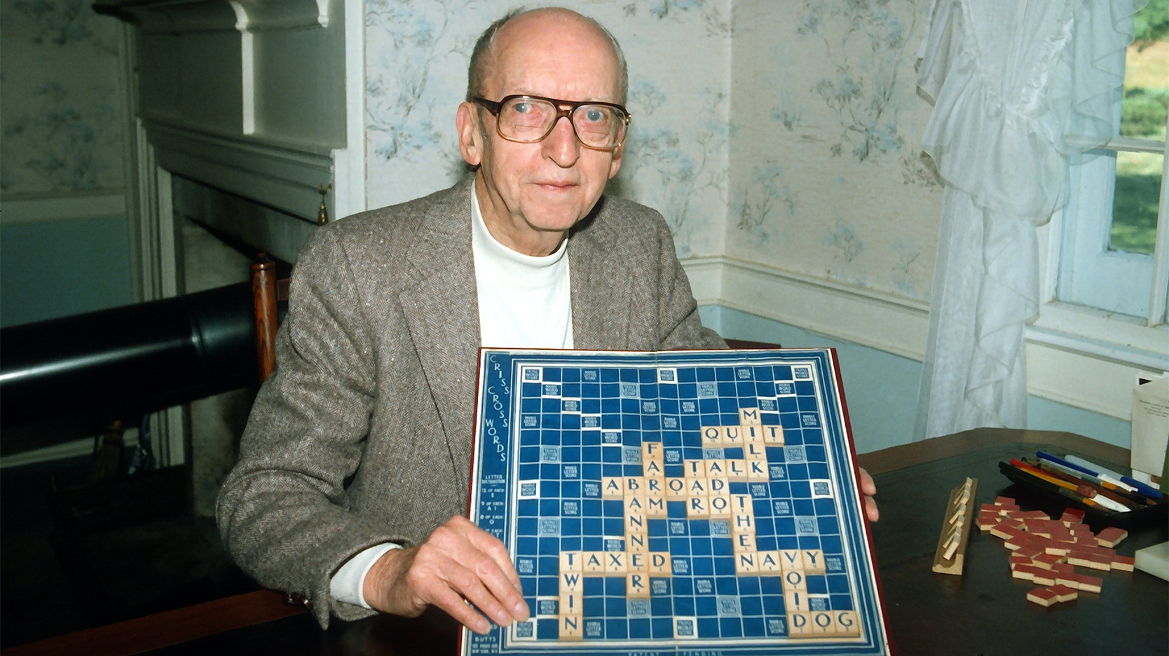 Alfred M. Butts inventor Scrabble board game