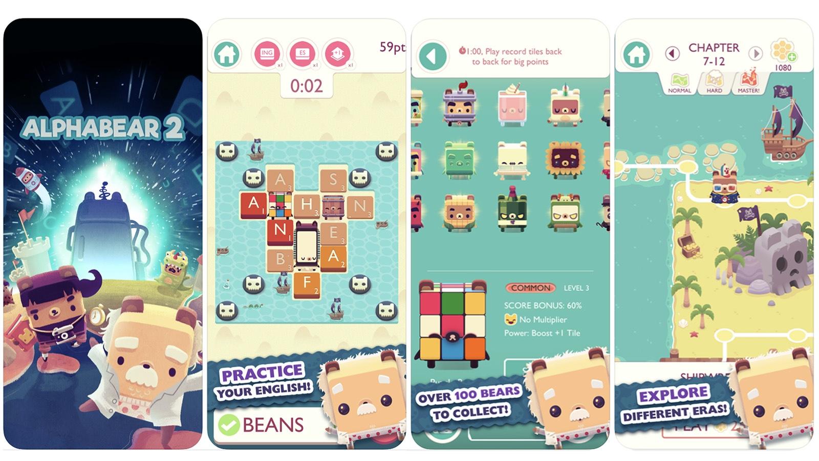 Alpha Bear 2 game screenshot