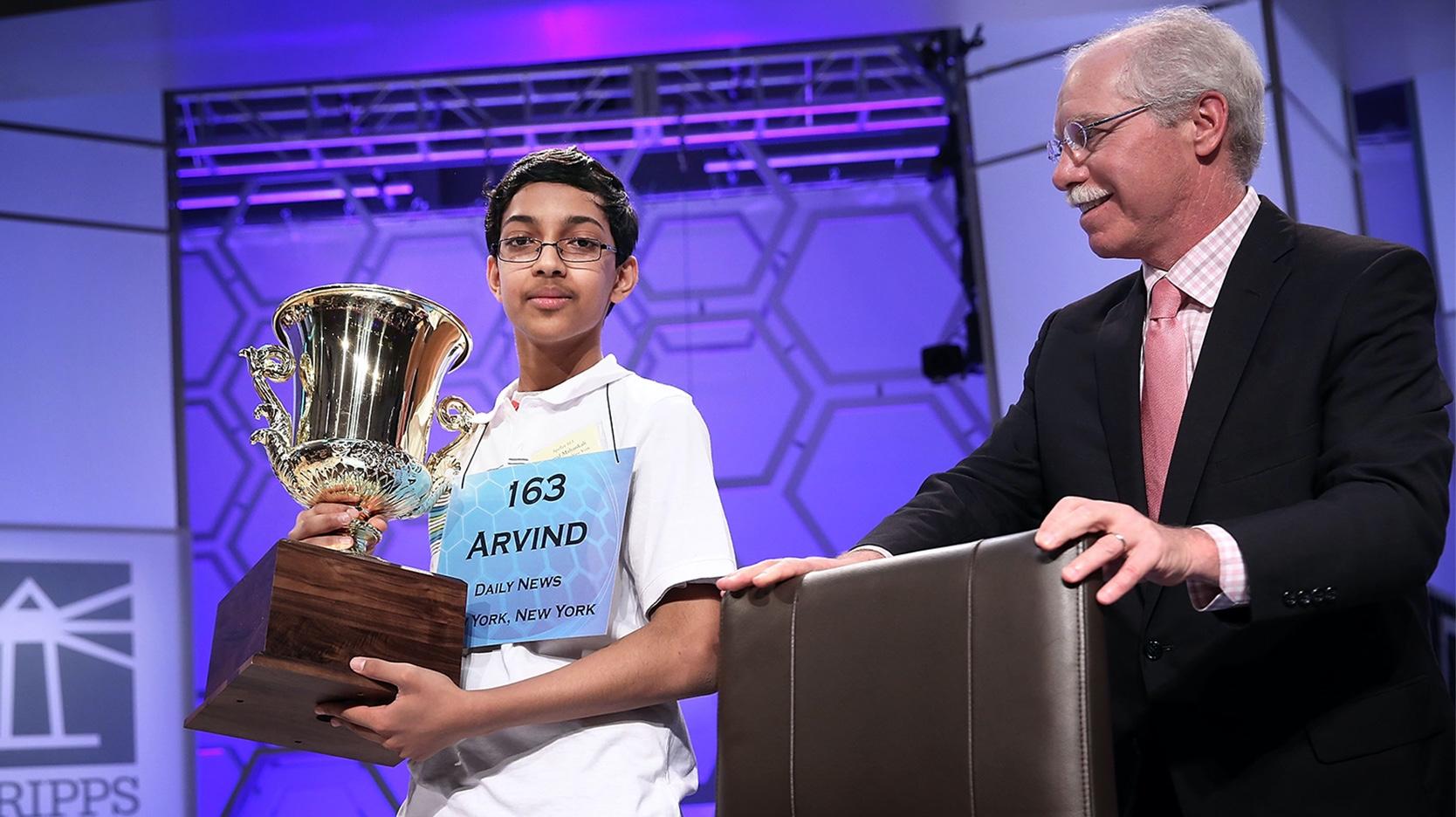 Arvind Mahankali Scripps National Spelling Bee Champion 2013