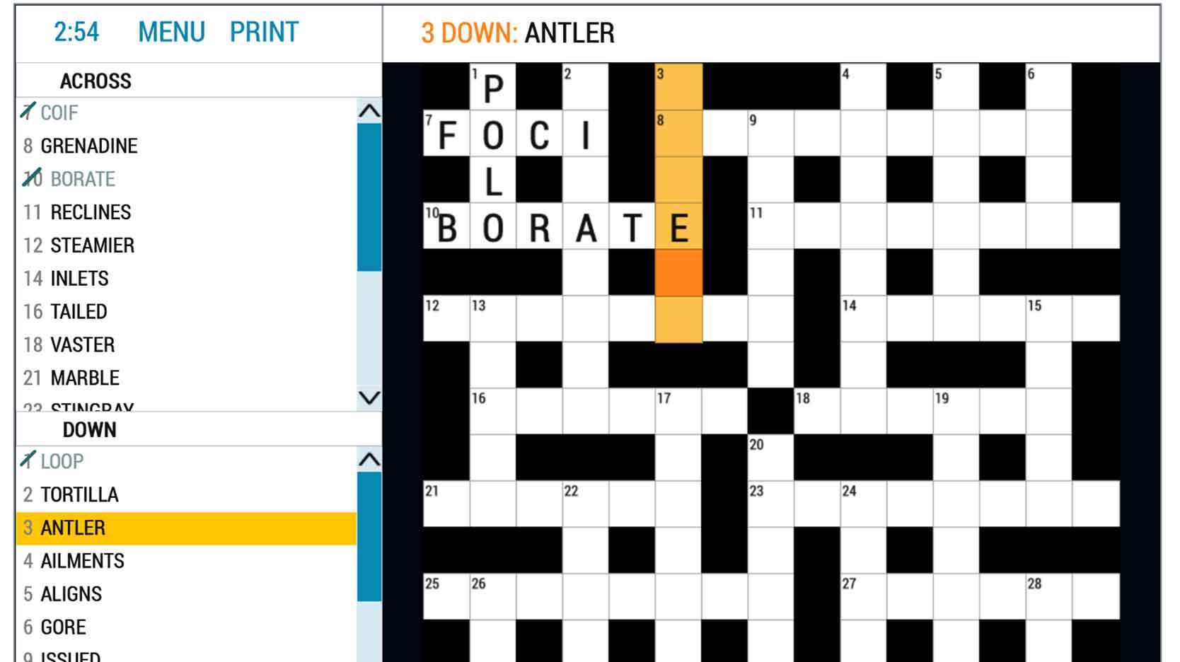 best anagram crossword online game