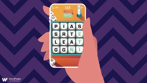 boggle game app on phone