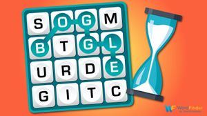 boggle game and timer