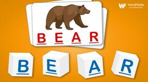 boggle junior cubes bear