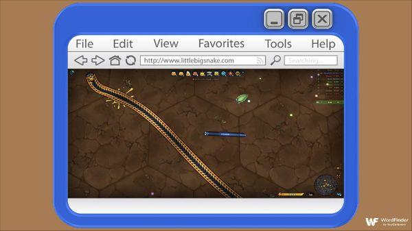 Little Big Snake game on computer browser