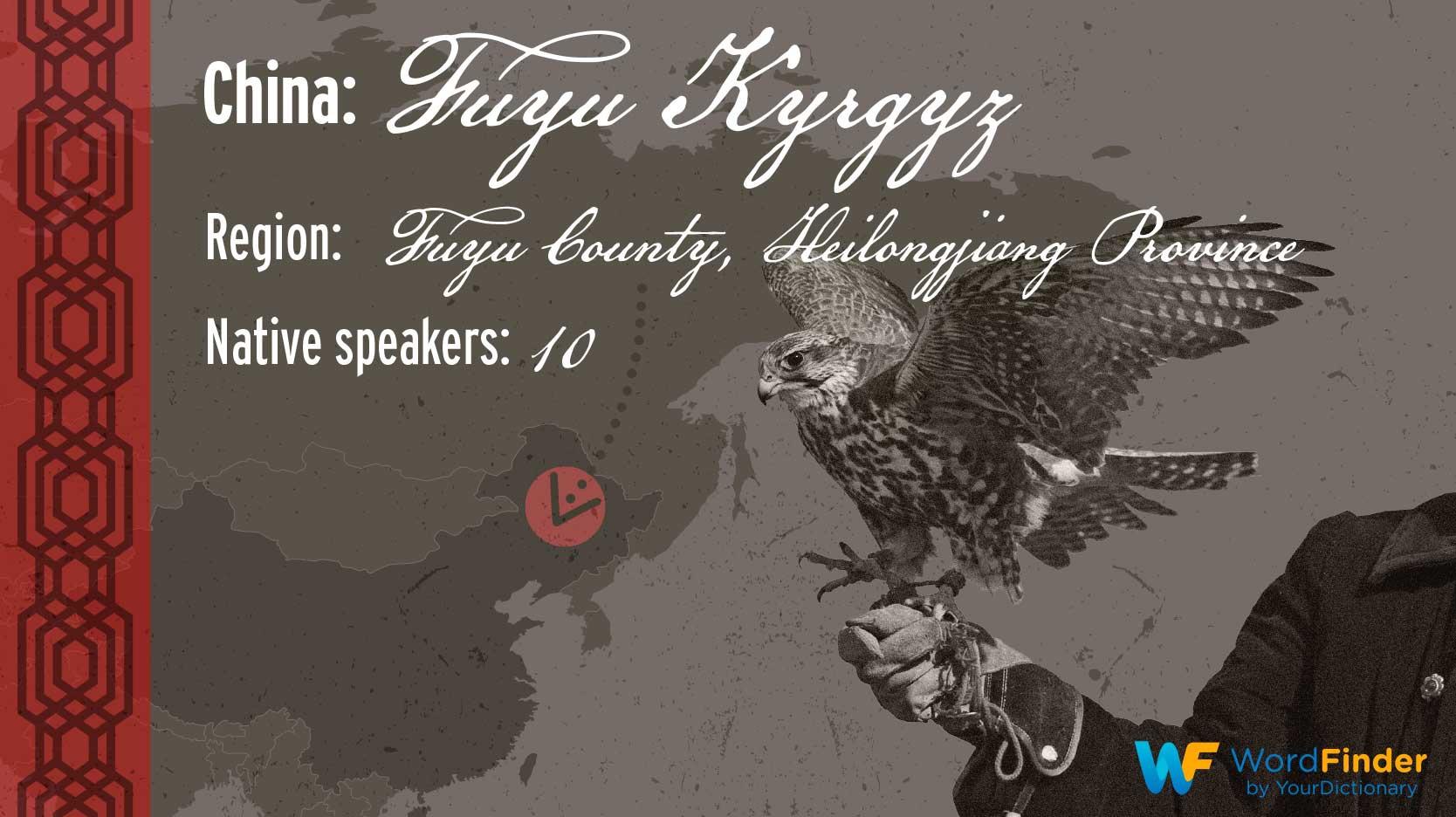 endangered language china fuyu kyrgyz