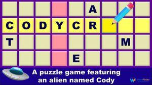 CodyCross alien themed crossword game
