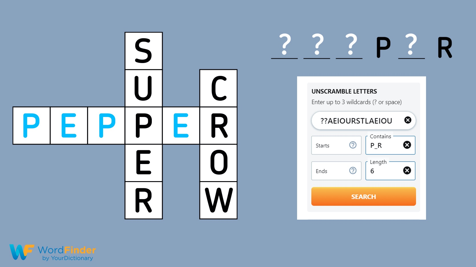 find missing letters with crossword solver