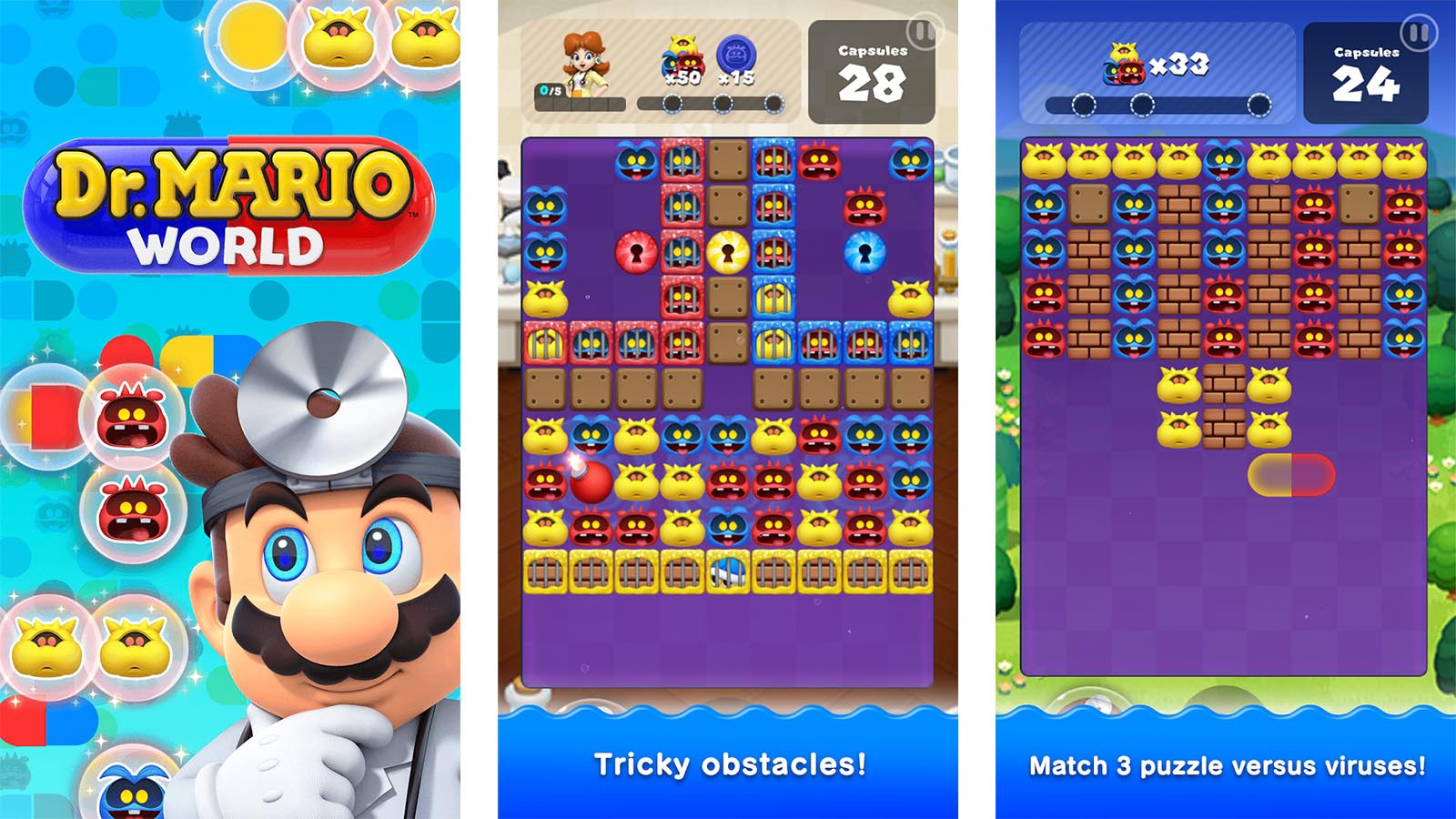 Dr. Mario World android game