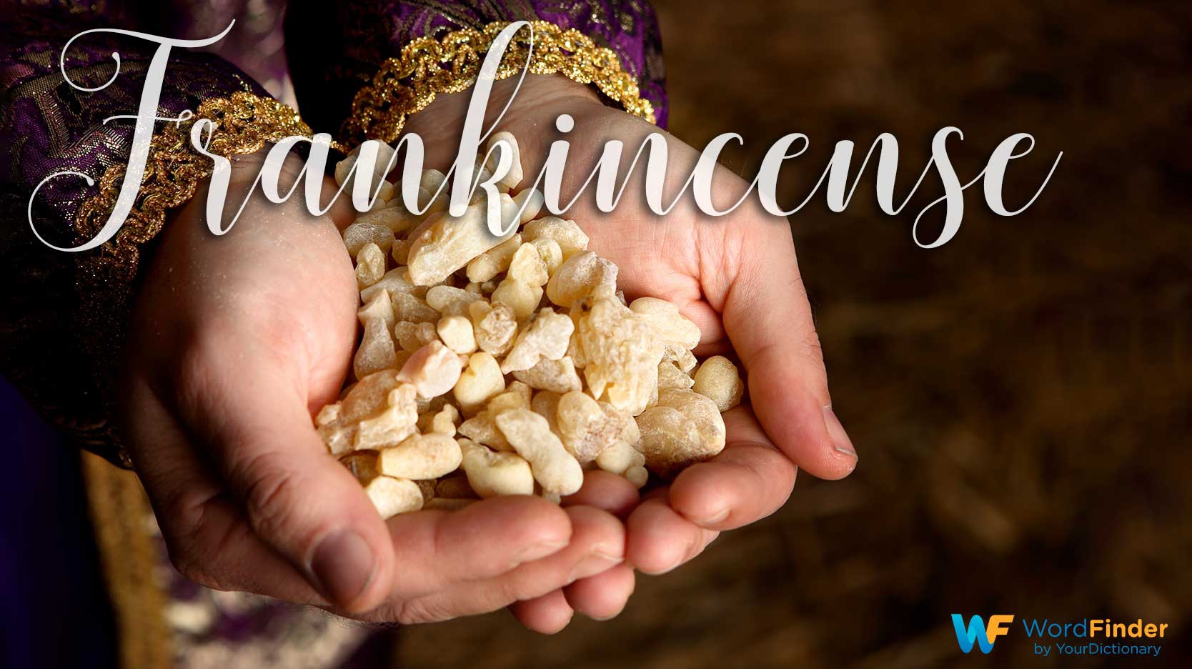 christmas word meaning frankincense