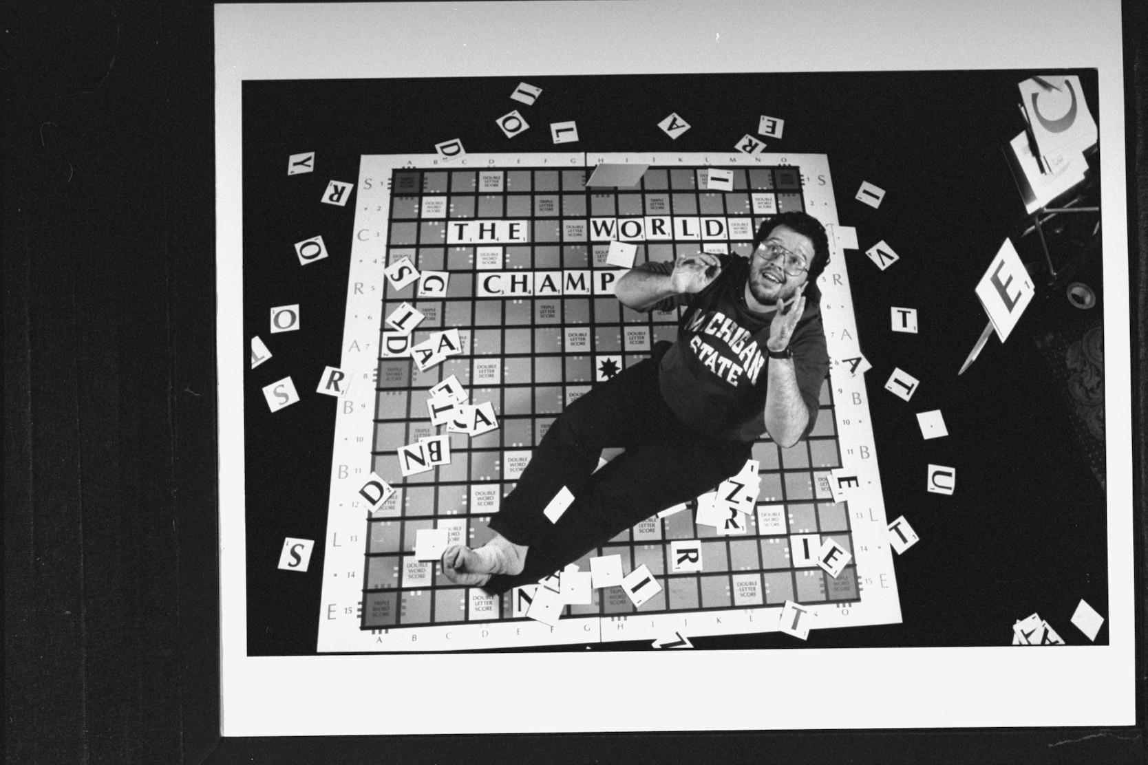 Peter Morris Scrabble world champion