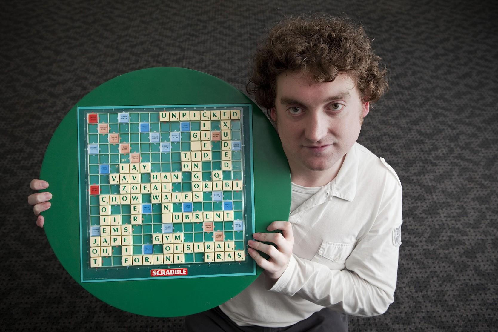 scrabble world champion Craig Beevers