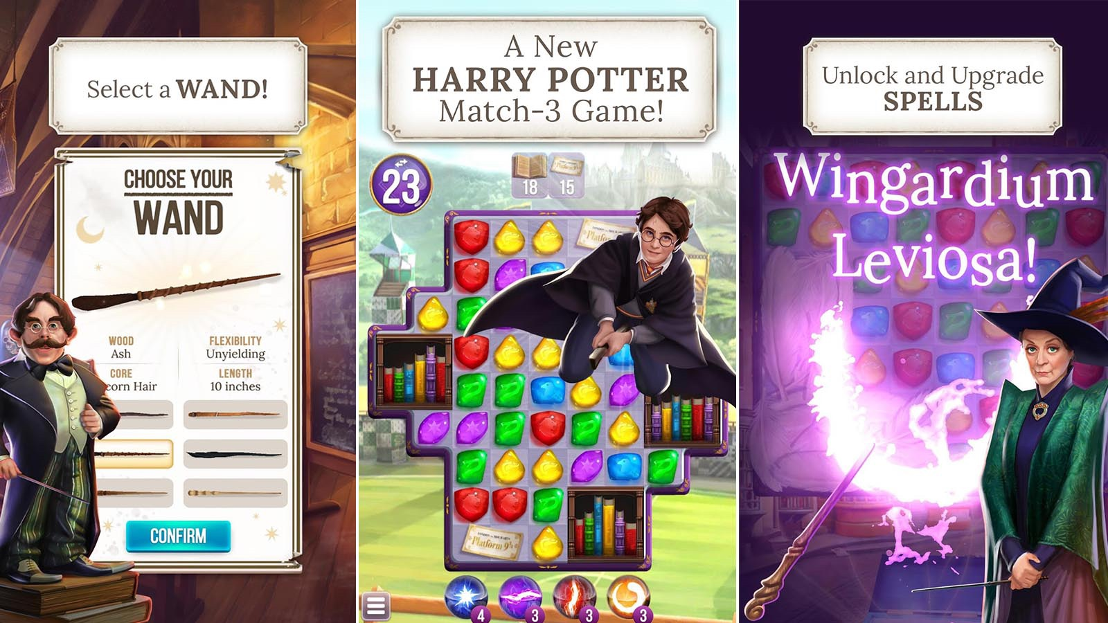 Harry Potter: Puzzles and Spells android game