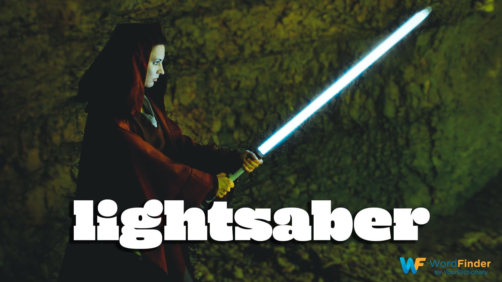 made up word lightsaber