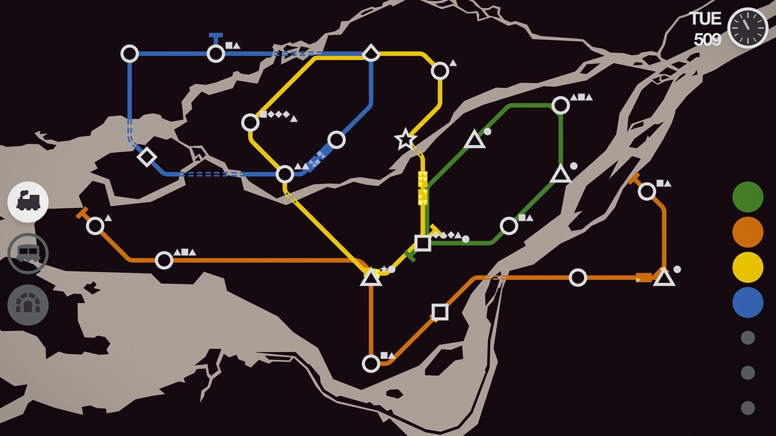 Mini Metro android game
