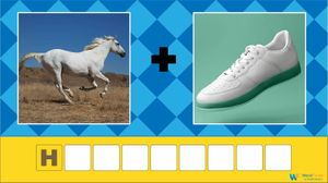 word game with picture clues