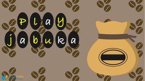 jabuka game tiles next to bag