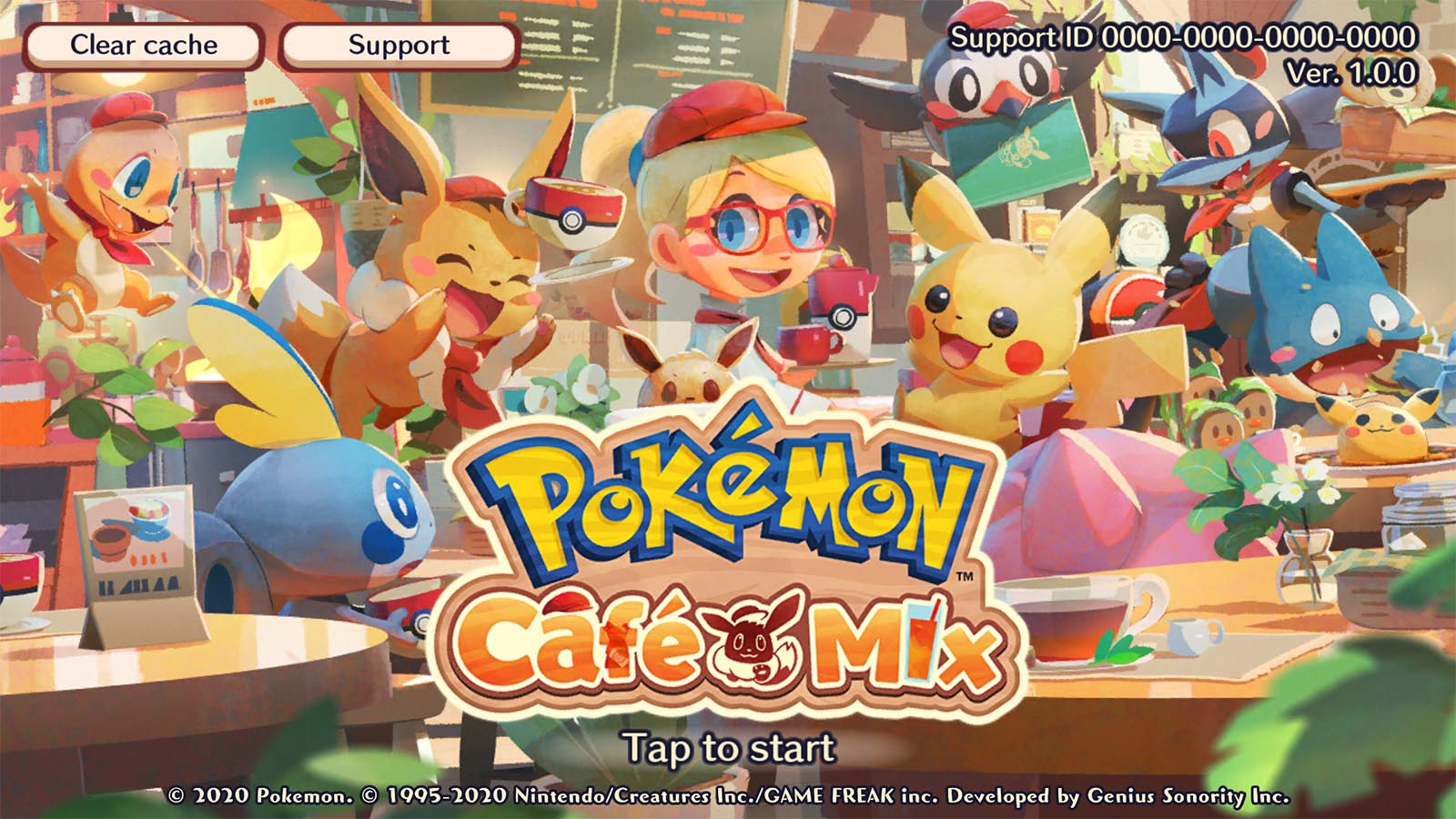 Pokemon Cafe Mix android game