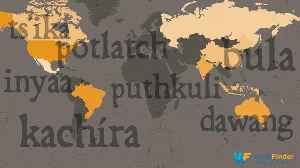 endangered languages world map