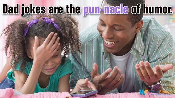funny pun dad joke