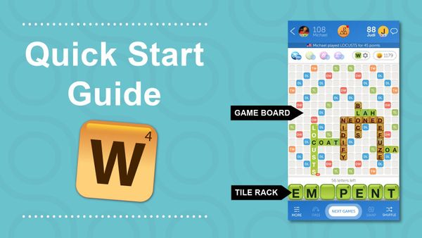 words with friends quick start guide