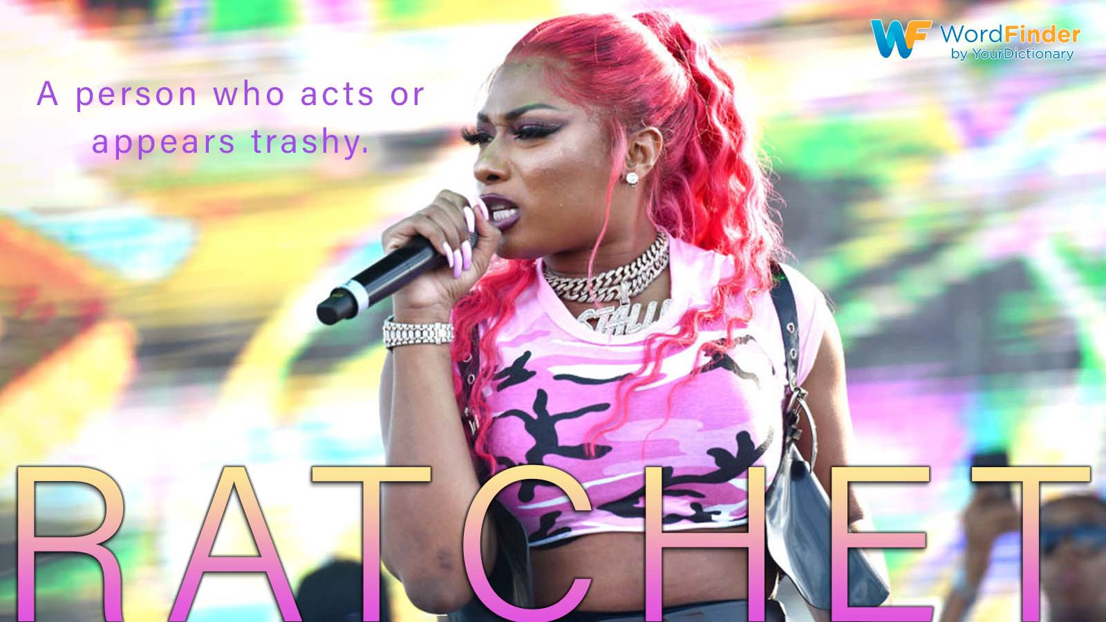ratchet definition with Megan Thee Stallion