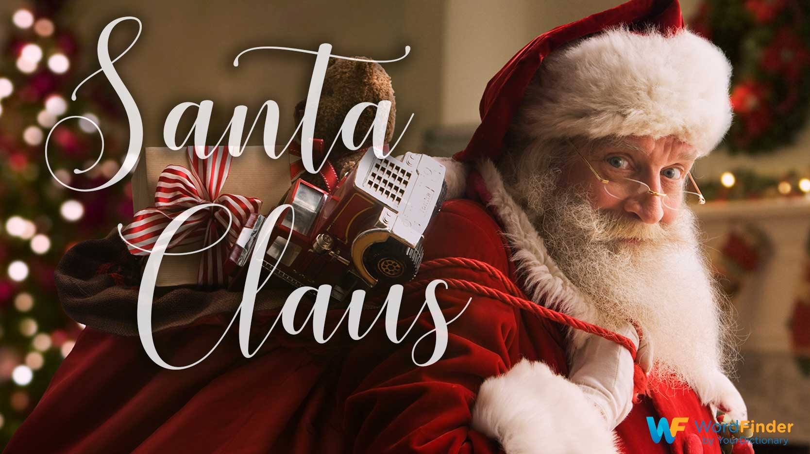 christmas word meaning santa claus