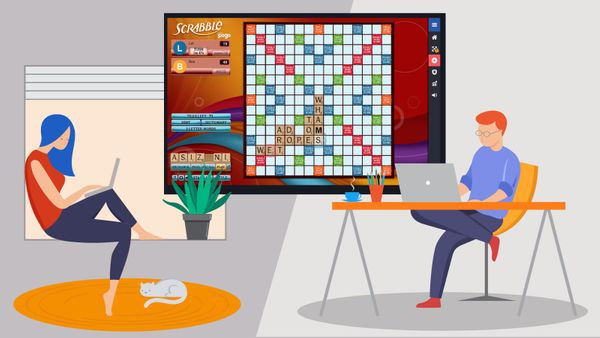 play scrabble online with friends