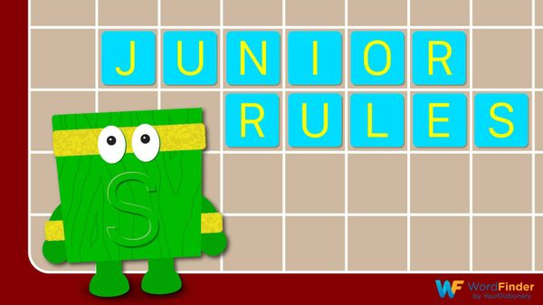 scrabble junior rules