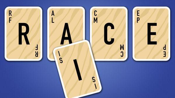 Scrabble Slam card example