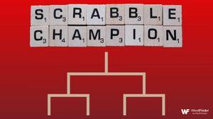 bracket under scrabble champion tiles