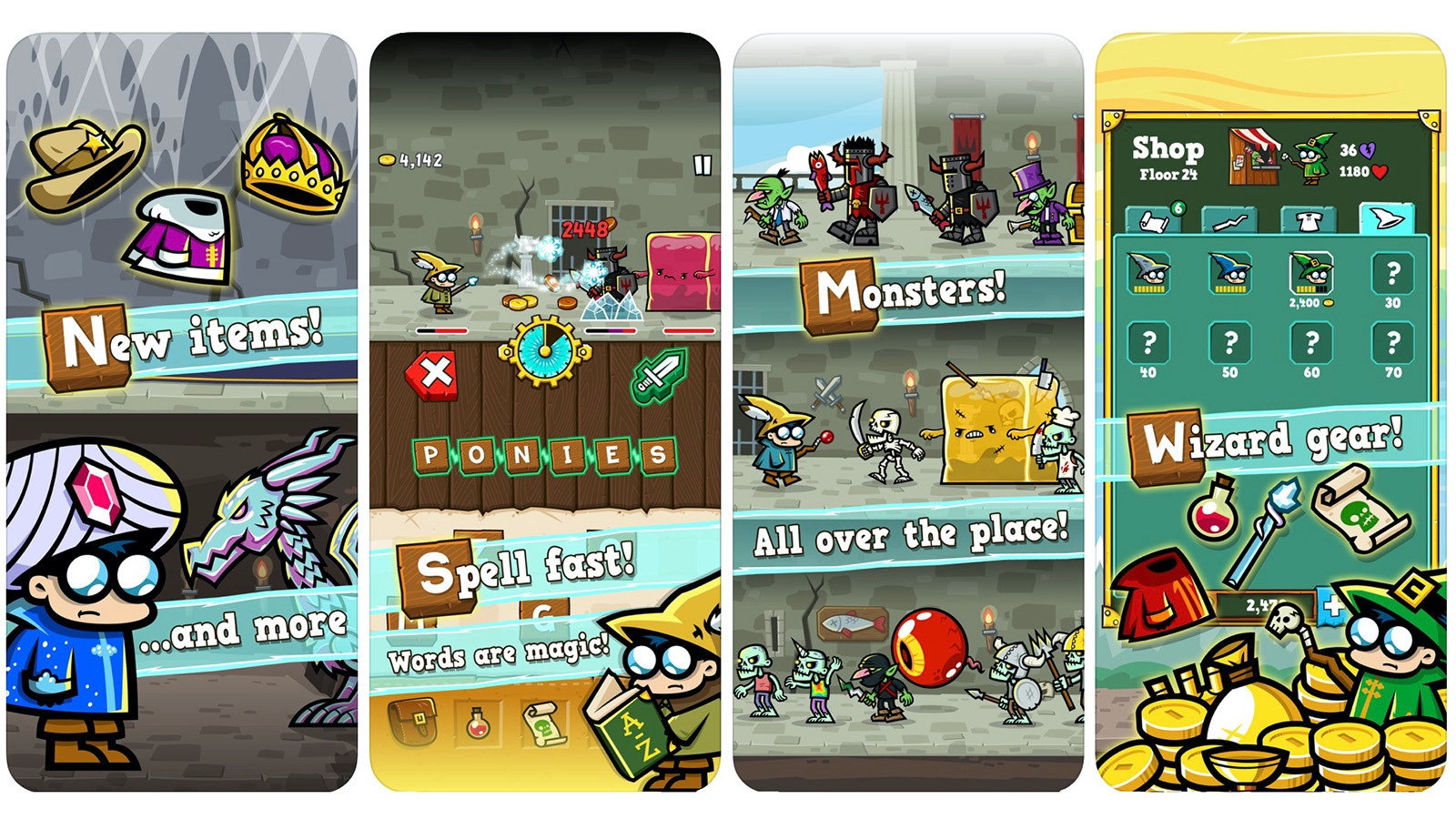 Spellspire game screenshot