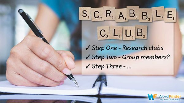 start a scrabble club steps