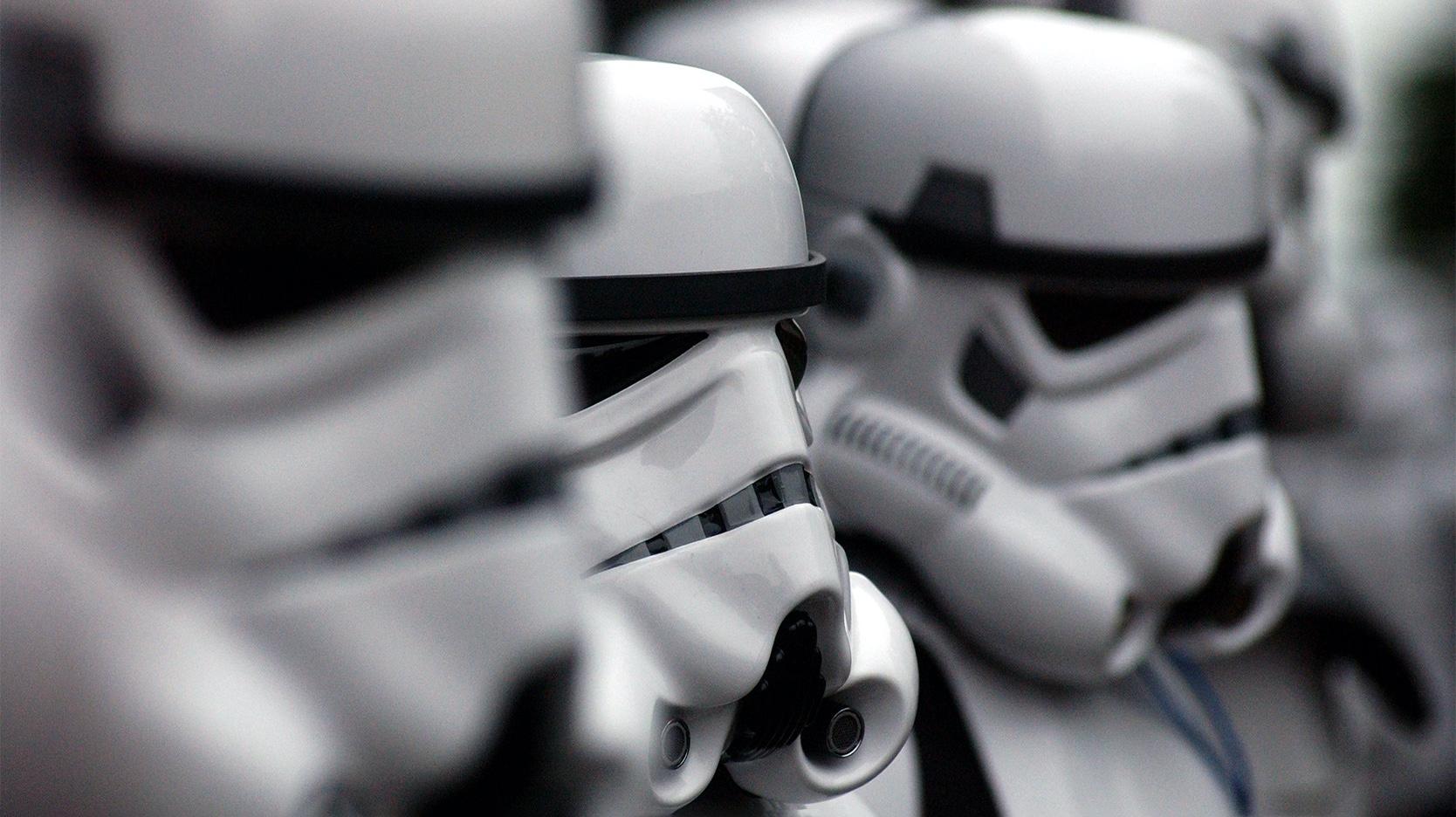 stormtrooper Star Wars word