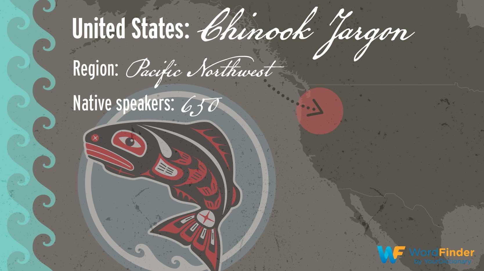 Chinook Jargon language in United States