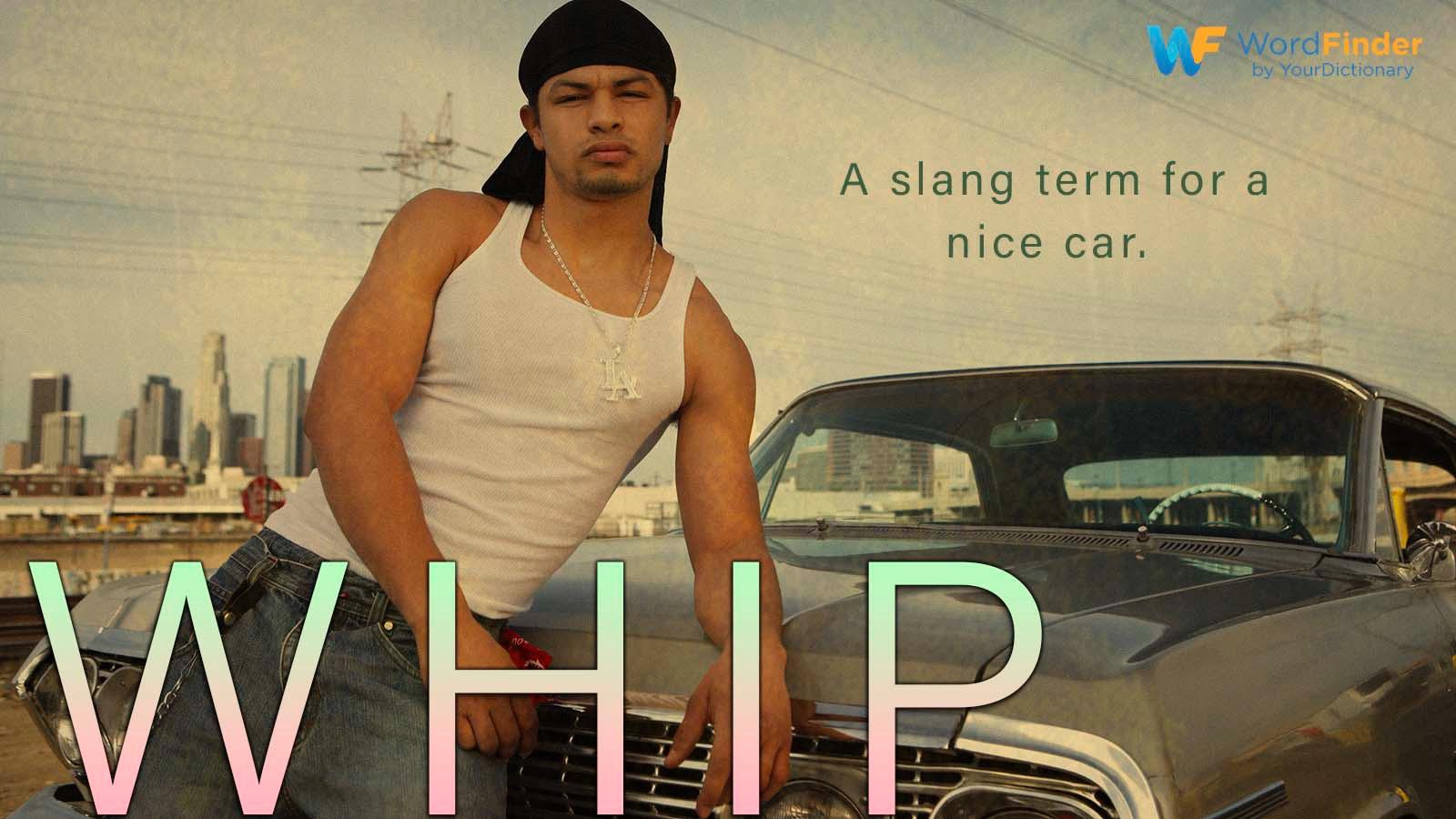 whip definition nice car