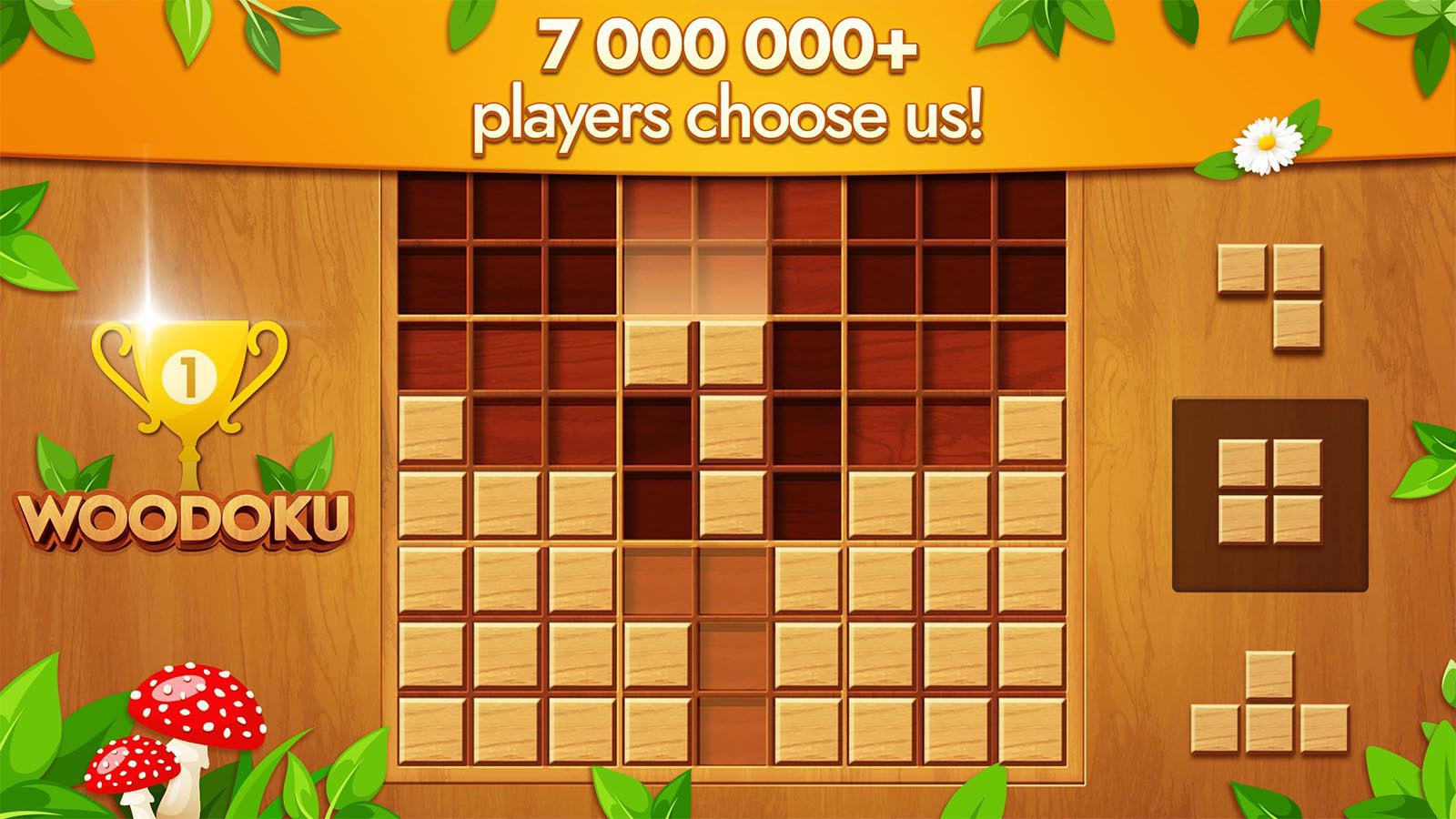 Woodoku android game