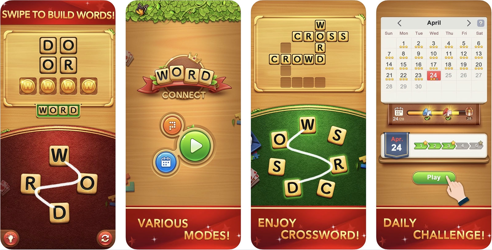 Screenshot of Word Connect Game