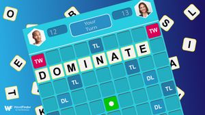 word domination mobile game with tiles