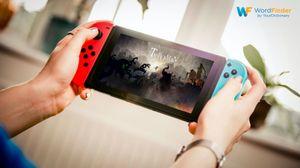 Nintendo Switch game Typoman