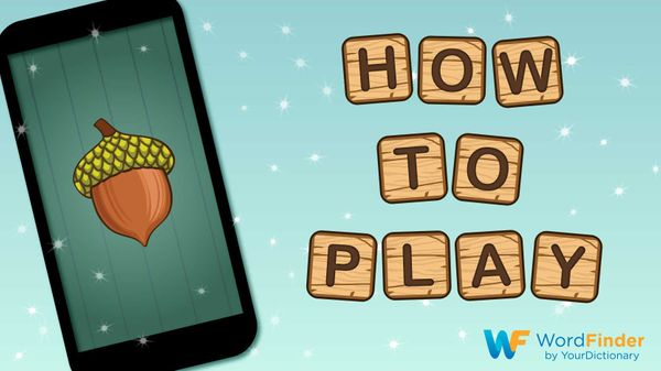 directions how to play Word Nut game