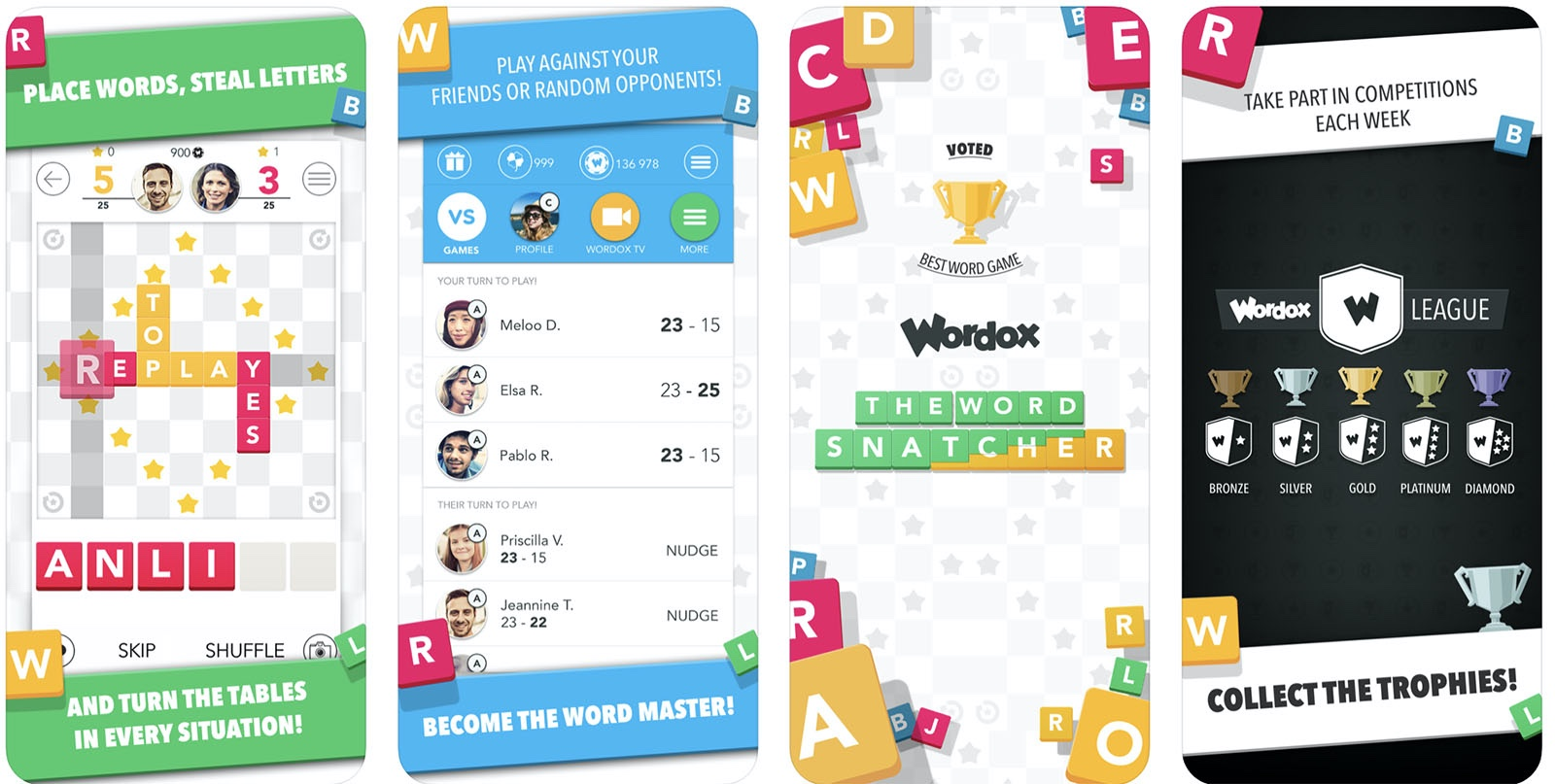 Screenshot of WordOx game