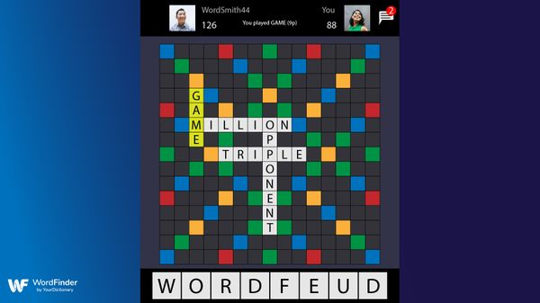 wordfeud game against friends