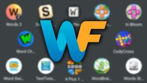 WordFinder app logo with word games