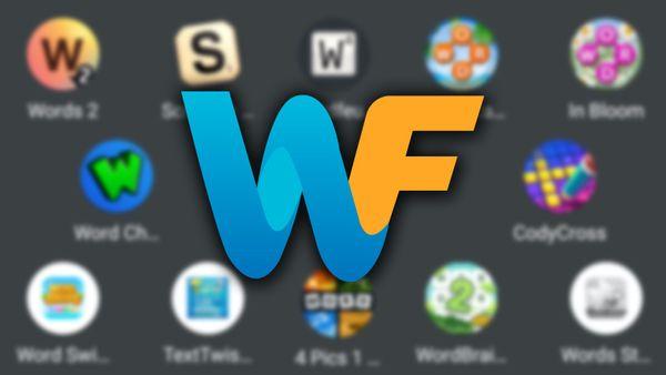 WordFinder app logo with word games