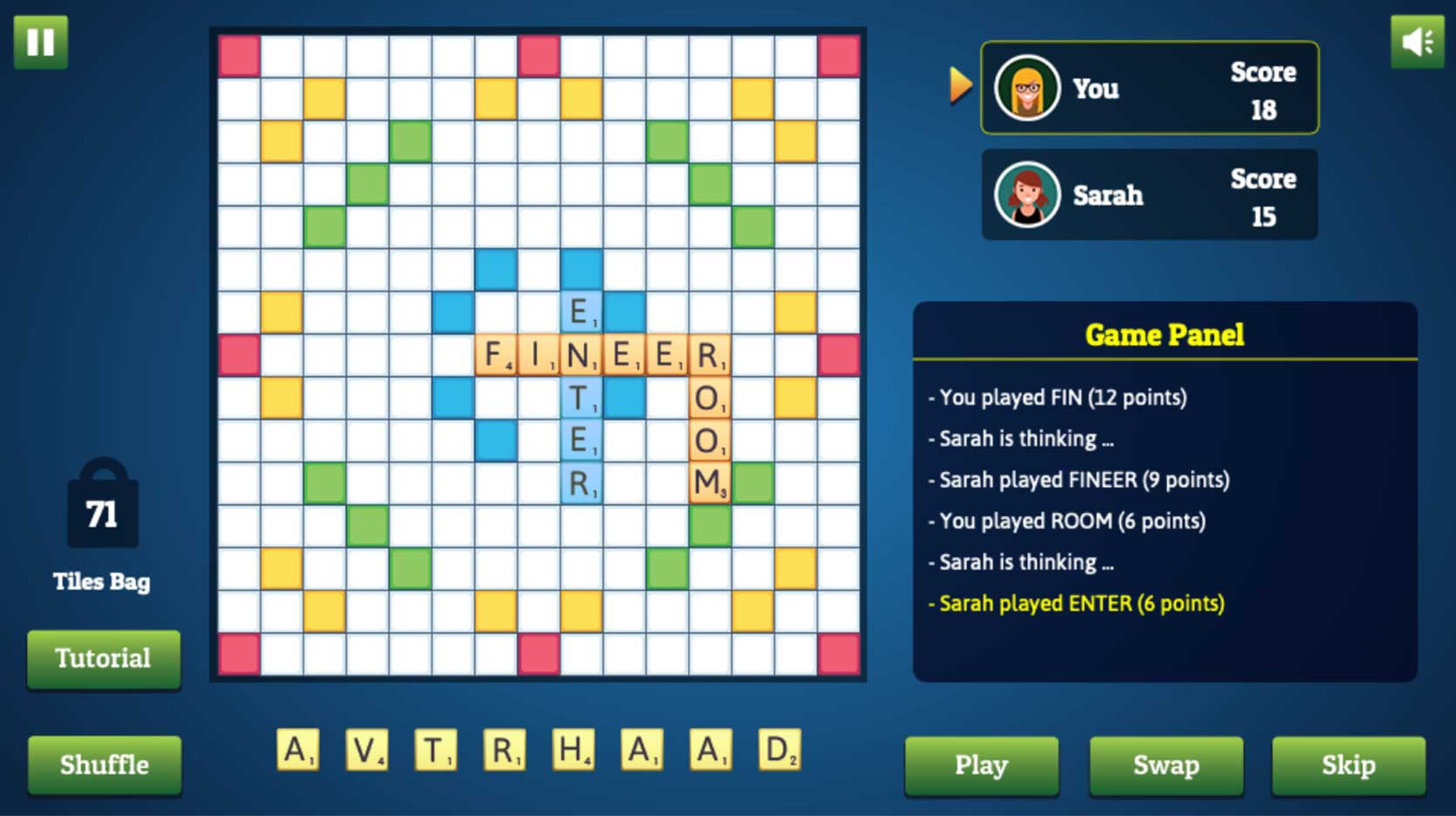 wordmeister online word game